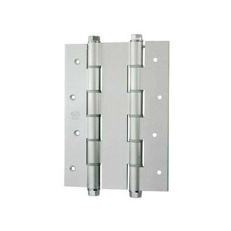 Bisagra Doble Accion Mod.3035 Amig 180x133mm Aluminio Plateado