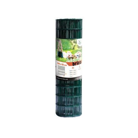 Malla Jarditor Classic Verde Mrt 100x50mm ALTURA 100cm