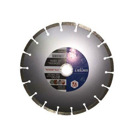 Disco diamante segmentado sinter 7 230 mm