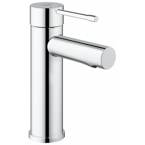 Grohe Essence New Robinet pour lavabo 1 trou S size EcoJoy et cartouche 28mm chrome - chrome