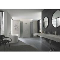 Grohe Essence New S Size Mitigeur lavabo avec bonde supersteel - Supersteel