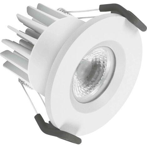 Spot LED encastrable pour salle de bains LEDVANCE SPOT FIREPROOF 4058075127333 LED intégrée Puissance: 7 W blanc cha