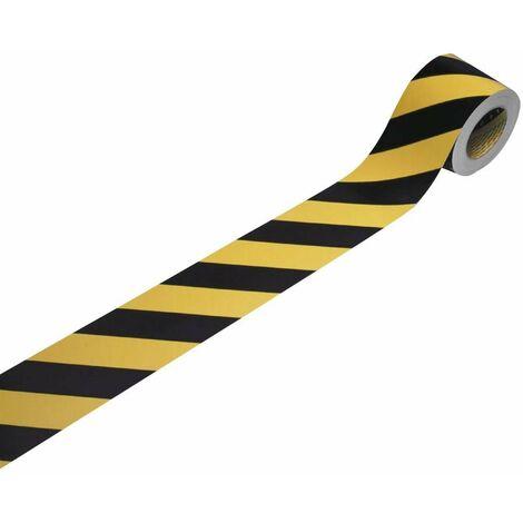 Marquage de signalisation industriel 3M 13058R10 indiquant la droite, flexible, microprismatique jaune réfléchissant, n