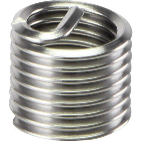 TOOLCRAFT TO-5343300 Insert fileté M10 x 1.5 acier inoxydable 50 pc(s)