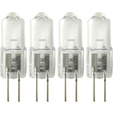 Ampoule halogène EEC: C (A++ - E) Sygonix LD-JC-G4-E/10W-4 G4 Puissance: 10 W blanc chaud N/A