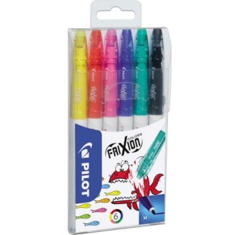 Pilot Feutres FriXion Colors Set 4144S6 couleurs diverses 0.4 mm 6 pc(s)/emb. 6 pc(s)