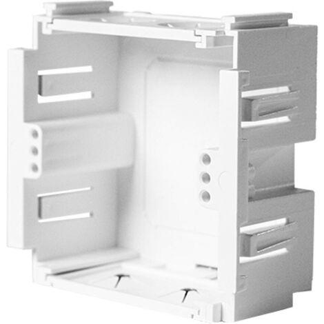 Canal dallège KOPOS KP 80 PK HB KP 80 PK HB prise encastrable pour appareils (l x h x p) 80.2 x 71 x 37 mm blanc 2 pc(s