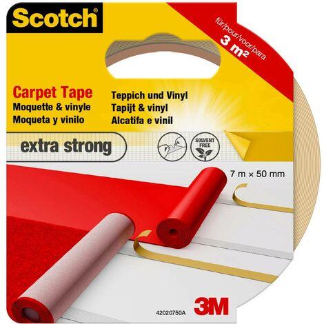 3M 42020750 Ruban adhésif pour tapis Scotch® blanc (L x l) 7 m x 50 mm 1 pc(s)