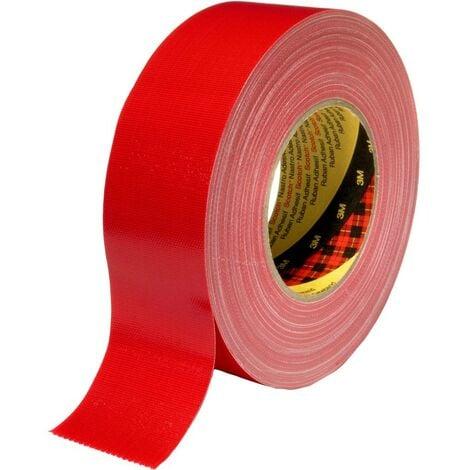 Ruban adhésif toilé 3M 389R38 rouge (L x l) 50 m x 38 mm 1 pc(s)