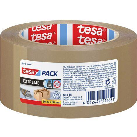 Bande demballage tesa tesapack Extreme 58645-00000-00 marron (L x l) 50 m x 50 mm 1 pc(s)