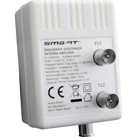 Smart HAV10B Amplificateur TV 2 voies