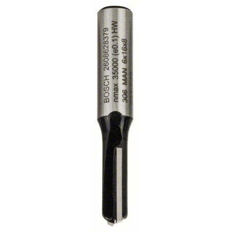Fraise à rainurer 8 mm, D1 6 mm, L 16 mm, G 48 mm Bosch 2608628379