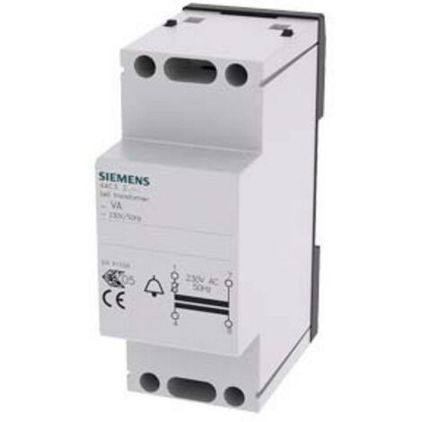 Siemens 4AC32140 Transformateur de sonnette 8 V, 12 V, 24 V
