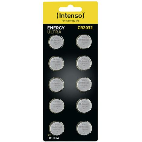 Pile bouton lithium CR 2032 Intenso Energy Ultra 7502430 220 mAh 3 V 10 pc(s)
