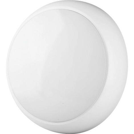 Plafonnier avec détecteur de mouvements V-TAC VT-09 818 LED intégrée Puissance: 8 W blanc N/A 8 kWh/1000h