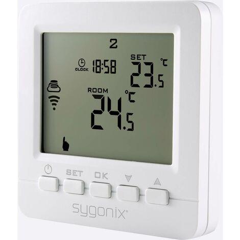 Thermostat sans fil Sygonix SY-4500820 encastré programme hebdomadaire 5 à 35 °C 1 pc(s)