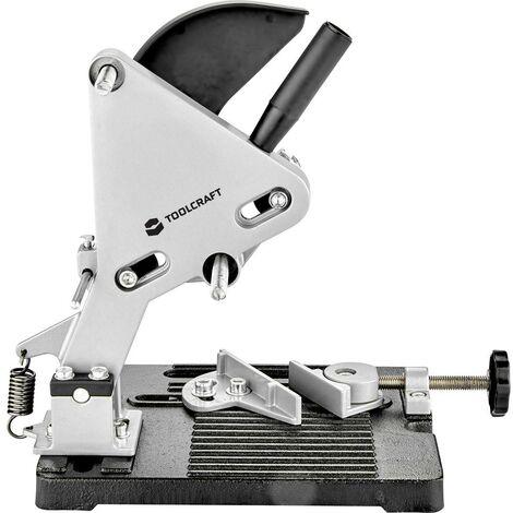 TOOLCRAFT 2267876 Support de séparation pour meuleuse dangle 115, 125 mm