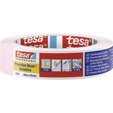 tesa 04333-00018-02 Bande de masquage rose clair (L x l) 50 m x 25 mm 1 pc(s)