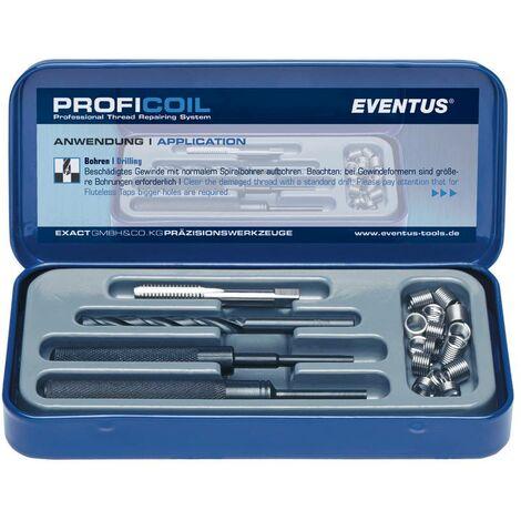 Kit de réparation pour filetages Eventus by Exact 40304 9 pièces M4 1 set