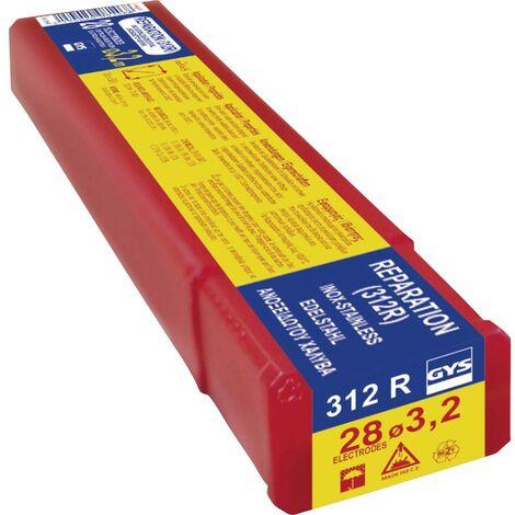 Vendu par 155 Electrode traditionnelle acier rutile Gys Diamètre 2 mm