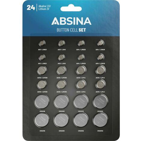 Absina Jeu de piles bouton 1 pc(s)