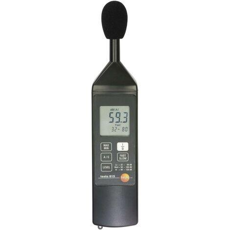 Sonomètre testo 815 : 32 - 130 dB
