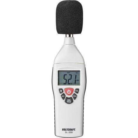 Sonomètre VOLTCRAFT SL-200 30 - 130 dB 31.5 Hz - 8 kHz 1 pc(s)