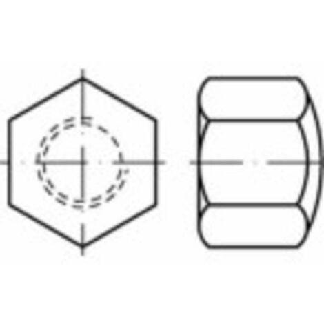 Écrou borgne hexagonal type bas M6 N/A TOOLCRAFT 1063077 acier inoxydable A4 50 pc(s)