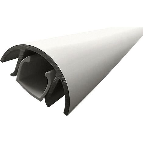 Cache câbles aluminium (L x l x h) 800 x 30 x 15 mm argent (mat, anodisé) Contenu: 1 pc(s) Alunovo MAL-080