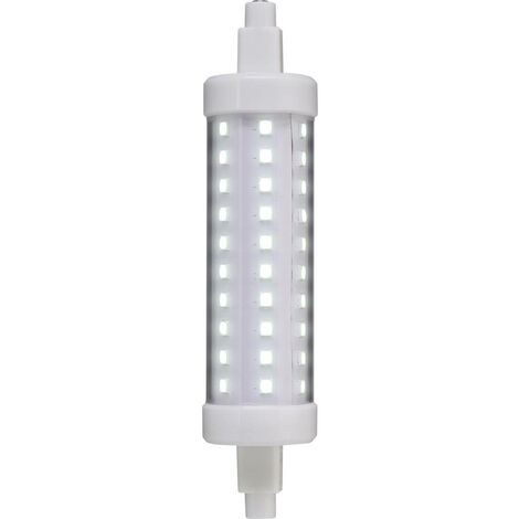 LED EEC: A+ (A++ - E) Sygonix TR7S-118-7C R7s Puissance: 7 W blanc froid N/A 7 kWh/1000h