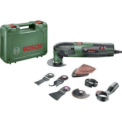 Outil multi-usage Bosch Home and Garden PMF 220 CE Set 0603102001 + accessoires, + mallette 16 pièces 220 W 1 set
