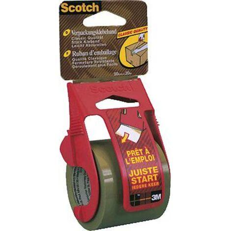 Bande demballage Scotch® 3M C5020D marron (L x l) 20 m x 50 mm 1 pc(s)