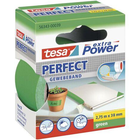 Ruban adhésif toilé tesa® extra Power tesa 56343-39-2 vert (L x l) 2.75 m x 38 mm caoutchouc 1 pc(s)