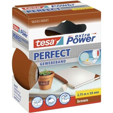 Ruban adhésif toilé tesa® extra Power tesa 56343-41-2 marron (L x l) 2.75 m x 38 mm caoutchouc 1 pc(s)