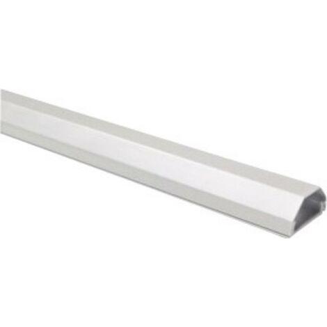 Goulotte aluminium couleur argent dimensions (L x l x H) 1100 x 33 x 18 mm B-Tech 2731HZ3SITZ18