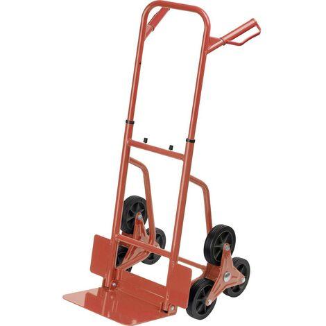 Diable monte-escalier pliable Meister Werkzeuge 8985750 Charge max: 120 kg acier 1 pc(s)
