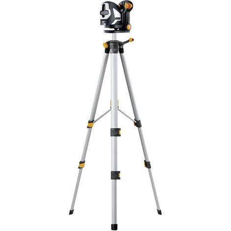 Laser en croix Laserliner SuperCross-Laser 2P RX Set 150 081.127A autonivelant, avec trépied Portée (max.): 20 m 1 pc(s