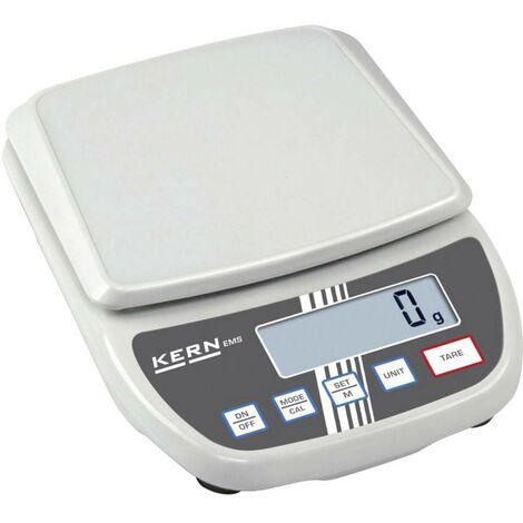 Balance de table Kern Plage de pesée (max.) 6 kg Lisibilité 0.1 g