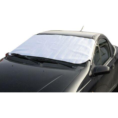 Protection de pare-brise contre le gel HP Autozubehör 18241 (l x H) 160 cm x 100 cm pour camions, pour SUV, pour van, p