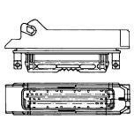 Boîtier mâle (platine) série J-P-T TE Connectivity 963063-1 Nbr total de pôles 55 Pas: 5 mm 1 pc(s)