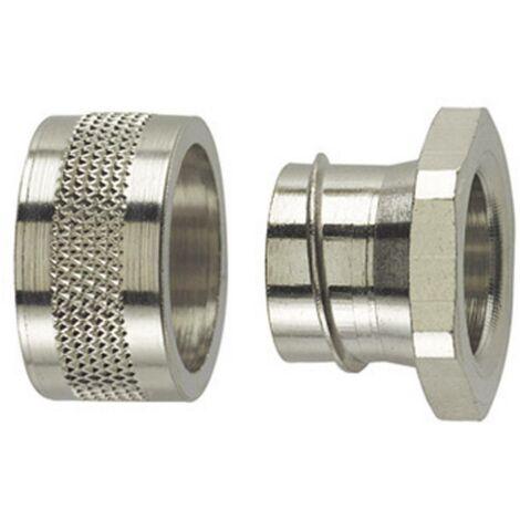 Fermeture dextrémité HellermannTyton SC10-PC 166-30510 métal 6.80 mm droit 1 pc(s)