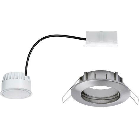 Spot LED encastrable pour salle de bains Paulmann Coin 93975 LED intégrée Puissance: 6.8 W blanc chaud