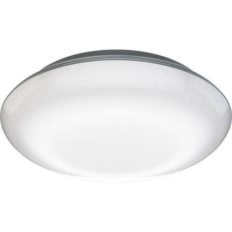 Plafonnier LED avec détecteur de mouvements Steinel Vario Quattro 057602 LED intégrée Puissance: 10 W blanc chaud N/