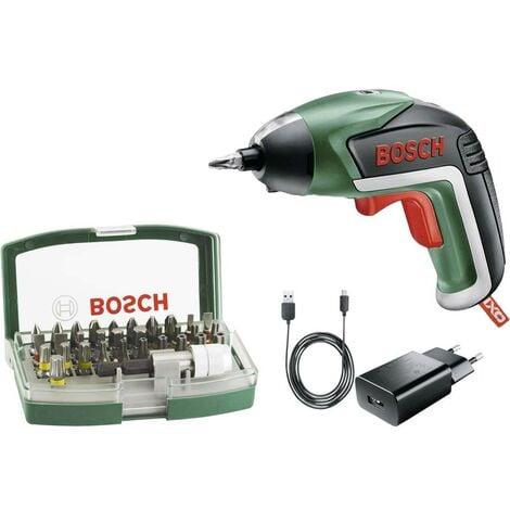 Visseuse sans fil Bosch Home and Garden IXO V 06039A800S + batterie, + accessoires