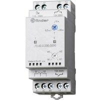 Relais de contrôle pour pompes 110 - 240 V DC/AC 2 NO (T) indépendants Finder 72.42.0.230.0000