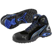 PUMA Safety Rio Black Mid 632250-42 Chaussures montantes de sécurité S3 Taille du vêtement: 42 noir, bleu 1 paire(s)