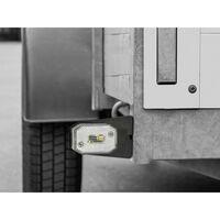 LAS Kit déclairage pour remorque feu arrière, éclairage de plaque minéralogique arrière, droite, avant 12 V