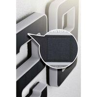 Paulmann 79848 Eclairage solaire pour numéro de maison 0.20 W blanc chaud noir