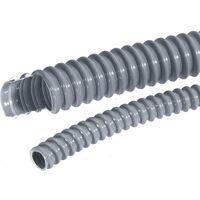 LAPP 61747390-10 SILVYN® EL 22x27,7 SGY Gaine annelée gris-argent (RAL 7001) 22 mm 10 m