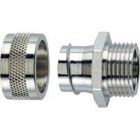 LAPP 55502041 SILVYN® LGF-2-M 32X1.5 Gaine annelée argent M32 28.10 mm droit 1 pc(s)